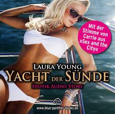 Yacht der Sünde   Erotisches Hörbuch 1 CD von Laura Young   blue panther books