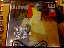 Oscar Peterson Plays the Cole Porter Song Book LP sealed 180 gm vinyl RE reissue