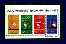 Block  8 ** Olympische Spiele München 1972