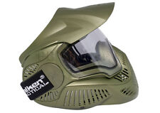Valken Sly Annex MI-7 Olive with thermal anti-fog clear Lens Goggle Mask