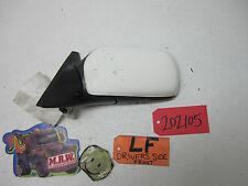 88 89 MAZDA MX-6 MX6 LEFT DRIVER SIDE DOOR MIRROR GLASS WHITE LF LH L REAR VIEW