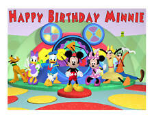 Mickey Mouse Clubhouse edible cake image frosting sheet party decoration