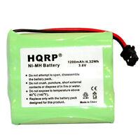 Hqrp Batterie Téléphone sans Fil pour Ge GE-TL26154 GE-TL26144