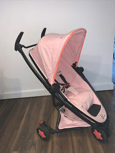 Pink Quinny Zapp Xtra 2 Holiday Lightweight Stroller With Travel Carry Bag