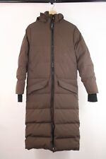 Canada Goose Mens Brown Full Length Long Down Parka Jacket Coat Size XS