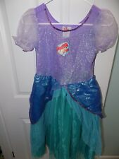 The Disney Store Ariel The Little Mermaid Dress Up Halloween Costume NWT 8/10