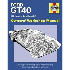Ford GT40 Haynes Owners' Workshop Manual Gordon Bruce