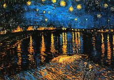Van Gogh # 22 cm 50X70 Stampa Arte su Tela Canv, papiarte,
