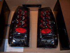 New IPCW Chrome LED Euro Tail Lights LEDT-501C - 1997-2007 Ford F150/F250/F350