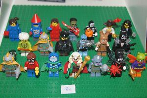 20 LEGO SERIES Minifigures / Minifigs mix BATMAN MONSTERS 13 17 18 (Be) GENUINE
