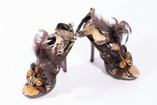 BEBE African style fashion shoes / high heels. Size 5 US ; 3 UK ; 35.5