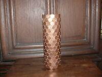 Vase ca. 50 Jahre alt Vase aus Pfennigen Münzen Sammlerstück