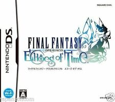 Used DS Final Fantasy Crystal Chronicles Echoes of time NINTENDO JAPANESE IMPORT