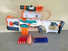 Pistolet Fusil NERF N-STRIKE MODULUS TRI-STRIKE 3 EN 1 MEGA MISSILE  Fléchettes