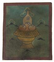 Tsakli -simbolo Cinabro-Pittura Starter Lama Tibetano Mongolia Tibet 8444