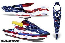 AMR Racing Jet Ski Wrap Yamaha Wave Blaster Graphics Kit 1993-1996 STARS STRIPES