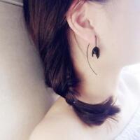 Fashion Women Lady Flower Earring Long Drop Dangle Earrings Jewelry Gift LL