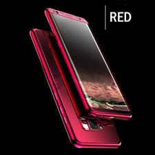Coque Protection Intégrale Pour Samsung Galaxy S8 Plus Miroir Couleur Rouge + F