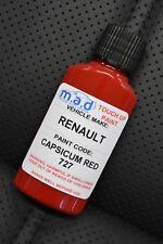 Renault Pimiento Rojo 727 Sport Clio Kit de Retoque Pintura 30ml 182 Trophy