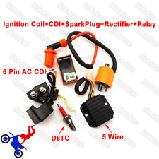 ATV Quad Racing Ignition Coil Spark CDI Regulator Rectifier Relay 150 200 250 cc