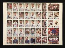 1984 New York Islanders Islander News Uncut Sheet Stanley Cup