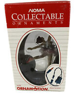 Vintage In Box 1989 Noma Collectable Ornaments BALLERINA w Ornamotion  2302