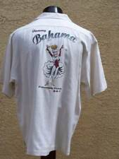 Tommy Bahama PARADISE CASINO Sand Dollar Silk Embroidered Back Camp Shirt - L