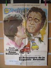 1407      EL PRISIONERO DE LA SEGUNDA AVENIDA JACK LEMMON
