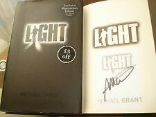 Light by Michael Grant Exclusive Waterstones Signed Edition (Hardback, 2013)