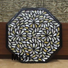 side end table handmade marble tables inlay work floral mosaic