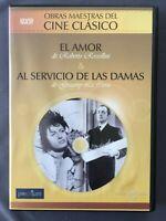 DVD EL AMOR + AL SERVICIO DE LAS DAMAS Roberto Rossellini Anna Magnani