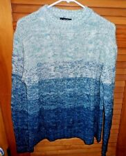 Men's blue pull over sweater size M by Puritan