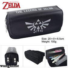 The Legend of Zelda Winged Pencil Case Stationery Bag Zipper Cosmetic Bags Gift