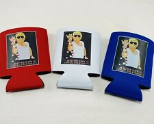 Donald Trump 2020 America Lot 3 Can Cooler Coozie Koozie Usa Gift Red White Blue