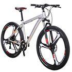 "29"" Aluminium Mountain Bike Disc Brakes Mens Bikes 21 Speed Bicycle MTB 29er XL"