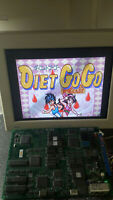 Diet go go arcade Jamma pcb video game board original Data east