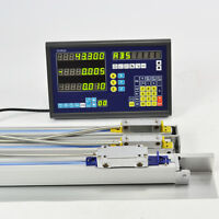 PRECISION DRO KITS 3 AXIS DIGITAL READOUT MILLING LATHE MACHINE TTL LINEAR SCALE