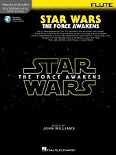 Star Wars The Force Awakens Flute Play-Along Book *NEW* Music AAI