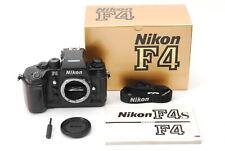 Excellent+++++ in box Nikon F4 35mm SLR Film Camera Body Black From Japan