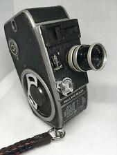 BOLEX PAILLARD 8mm MOVIE CAMERAvintage with case