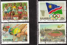 NAMIBIA 1992 SUMMER OLYMPICS BARCELONA COMPLETE POSTALLY USED SET 0438