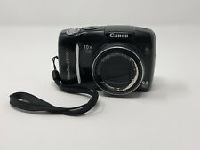 CANON POWERSHOT SX110 IS 9.0MP DIGITAL CAMERA BLACK 10X ZOOM NICE!!!