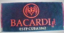 BACARDI RUM bar towel  - New