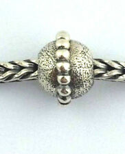 Authentic Trollbeads Planet Small Sterling Silver Charm 11145, New