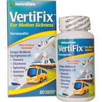 Natural Care VertiFix Nausea Relief 60 caps - Air, Car, Travel, Motion Sickness