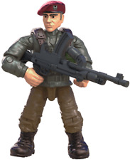Call of Duty COD Mega Construx FMG15 Legends Allied Soldiers WW2 FIGURE #4 W/LMG