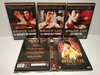 Lot 4 films DVD BRUCE LEE + 3 DVD Documentaires - PAL Zone 2 - Très bon état