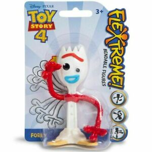 TOY STORY 4 FORKY FIGURE BENDABLE FLEXTREME STOCKING STUFFER
