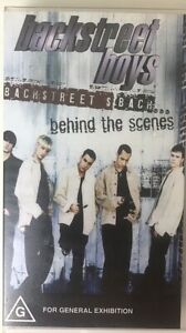 1997 Backstreet Boys Backstreets Back Behind The Scenes VHS Collectable