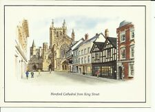 Hereford Cathedral from King Street  - Judges Ltd.